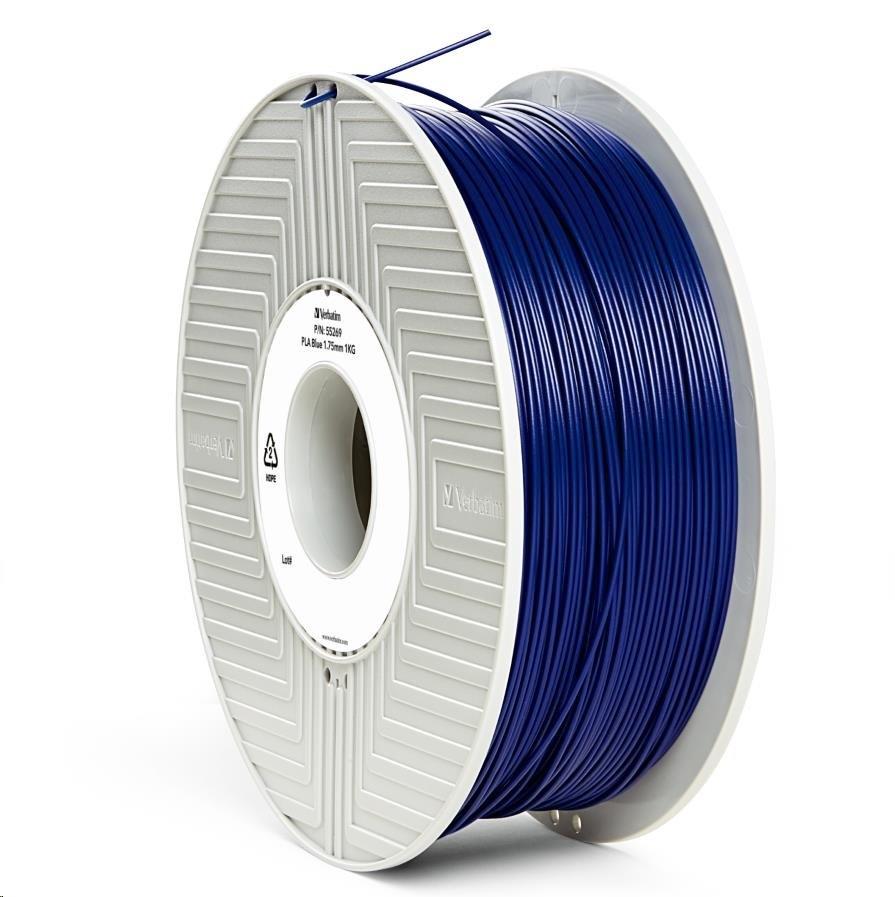 VERBATIM 3D Printer Filament PLA 1,75mm 1kg blue