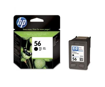HP 56 Black Ink cart, 19 ml, C6656AE