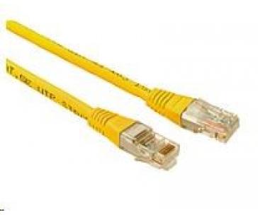 Solarix Patch kabel CAT5E UTP PVC 3m žlutý non-snag-proof C5E-155YE-3MB