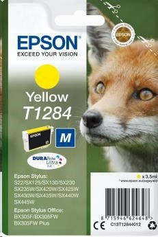 EPSON ink bar Singlepack Yellow T1284 DURABrite Ultra Ink (3,5 ml)