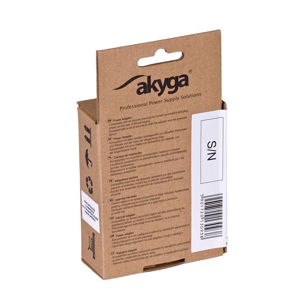 Akyga Car charger AK-CH-01 1000mA USB black