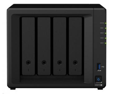 Synology DS918+ DiskStation (1,5GHz/4GBRAM/4xSATA/2xM.2/2xGbE)