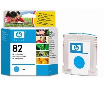 HP 82 Cyan DJ Ink Cart, 69 ml, C4911A