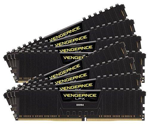Corsair Vengeance LPX 64GB (8 x 8GB) DDR4 DIMM 3800MHz C19 1.35V, černá
