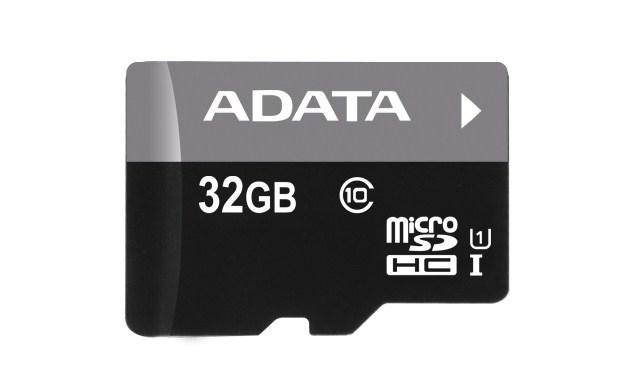 ADATA Micro SDHC karta 32GB UHS-I Class 10 + SD adaptér, Premier