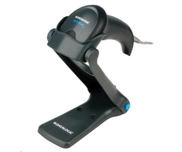 DataLogic QuickScan Lite QW2400, 2D, USB, kit (USB), black + stojánek