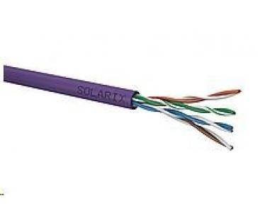 Instalační kabel Solarix UTP, Cat5E, drát, LSOH, box 305m