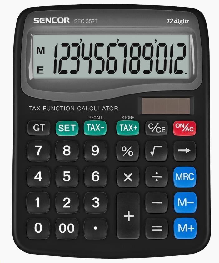 Sencor kalkulačka  SEC 352T/12