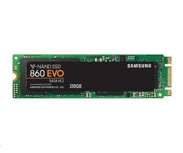 BAZAR - SSD Samsung 860 EVO M.2 250GB SATA III - rozbaleno