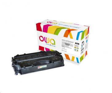 OWA Armor toner pro HP Laserjet P2050, P2055, 6500 Stran, CE505X, černá/black