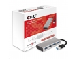 Club3D USB 3.1 Hub 4 porty s napájecím adaptérem