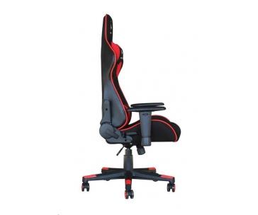 GEMBIRD Gaming chair / herní křeslo SCORPION 01, černá/červená, sítovina