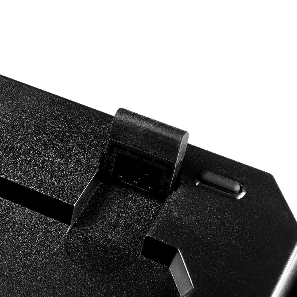 MODECOM klávesnice VOLCANO HAMMER RGB Blue Outemu Switch, US Layout