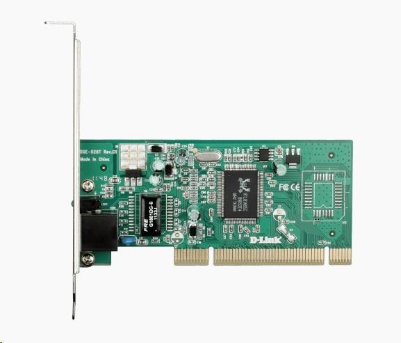 D-Link DGE-528T 10/100/1000 Gigabit PCI Ethernet Adapter