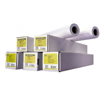 HP Heavyweight Coated Paper-1524 mm x 30.5 m (60 in x 100 ft),  35 lb,  130 g/m2, C6977C