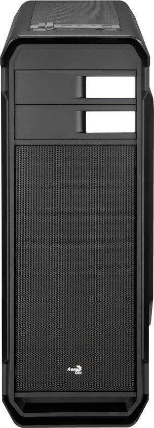 Aerocool PC skříň ATX AERO-500 WINDOW BLACK, USB 3.0, bez zdroje