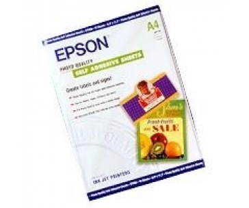 EPSON Paper A4 Photo Quality self-adhesive (10 sheets)
