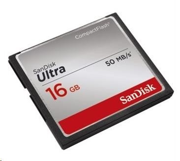SanDisk Compact Flash Card Ultra (50MB/s) - 16GB