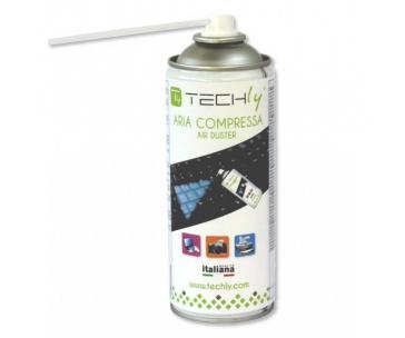 Techly Stlačený vzduch 400 ml
