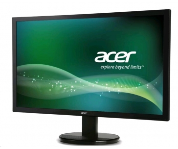 Rozbaleno - ACER LCD K222HQLbd, 55cm (21,5'') LED, 1920 x 1080, 100M:1, 200cd/m2, 5ms, DVI, Black SLIM Design