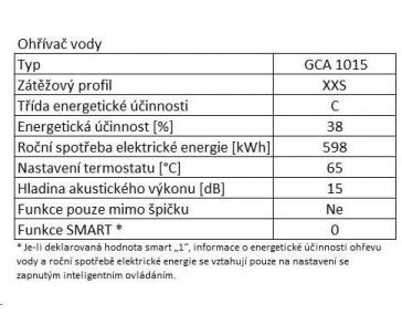 TESY GCA 1015 L52 RC ELEKTRICKÝ OHŘÍVAČ VODY