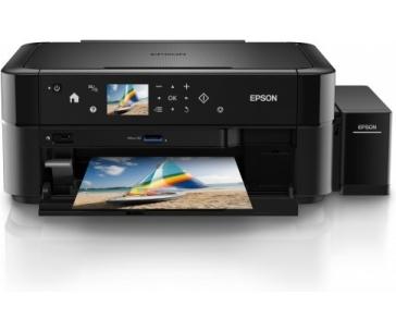 EPSON tiskárna ink L850, CIS, A4, 38ppm, 6ink, USB, TANK SYSTEM, CD/DVD print, MULTIFUNKCE-3 roky záruka po registraci