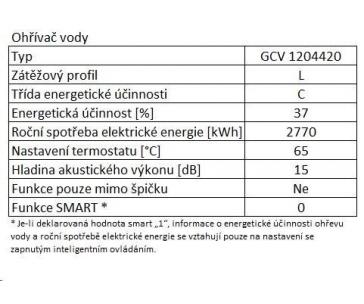 TESY GCV 1204420 B11 TSR OHŘÍVAČ VODY