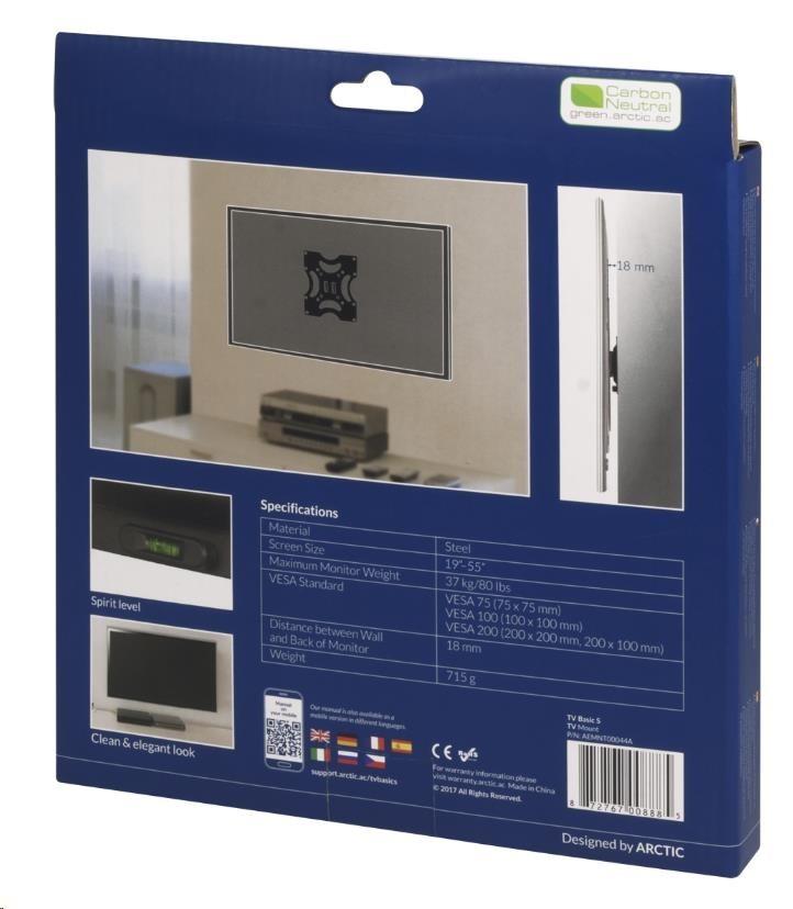 ARCTIC držák na TV Basic S