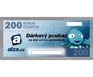 Dárkový poukaz ALZA.CZ 200 Kč