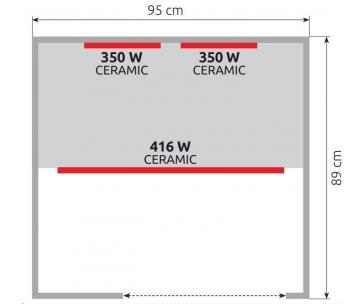 Marimex infrasauna Smart 1000 M