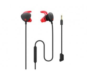 NATEC NSG-1510 Genesis Herní sluchátka + Mikrofón OXYGEN 400, černá