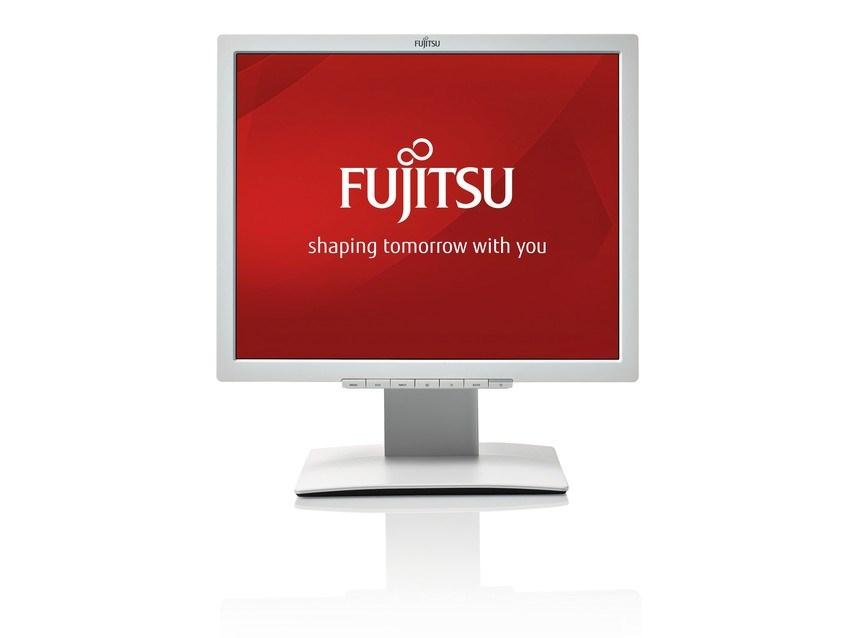 "FUJITSU MT B19-7 LED IPS, 19"" matný, 1280x1024, 250cd, 8ms, VGA, DVI, repro, VESA 10x10cm, PIVOT, bílý"