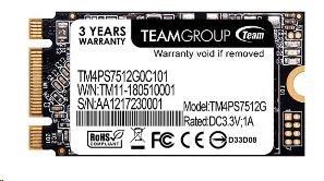 Team SSD M.2 512GB, MS30 2242