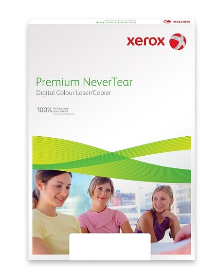 Xerox Papír Premium Never Tear PNT 130 A4 - Modrá (172g/100 listů, A4)