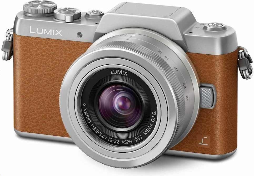 Panasonic DMC-GF7 brown + 12-32mm