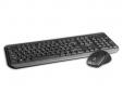 "BAZAR C-TECH klávesnice s myší WLKMC-01, USB, černá, wireless, CZ+SK ""REPAIRED"""