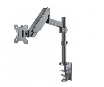 "Manhattan Mount, Single gas-spring jointed arm, for one 17"" to 32"" monitor"