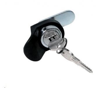 TRITON Zámek pro nástěnné rozvaděče, stejný klíč + 1x set klíčů