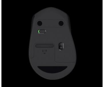 Logitech Wireless Mouse M330 Silent Plus, black