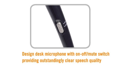 A4tech MI-10, stolní mikrofon