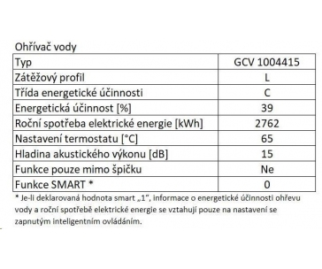TESY Promotec GCV 1004415 D07 TRC ELEKTRICKÝ OHŘÍVAČ VODY