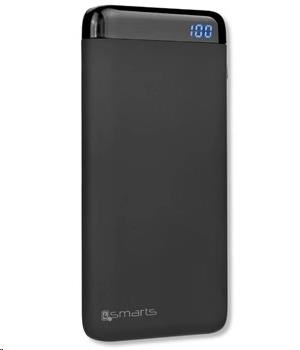 4smarts powerbanka VoltHub Power Delivery & Quick Charge 3.0, 10000 mAh, černá