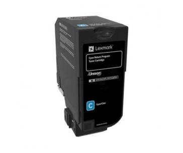 Return Program Toner Cartridge Lexmark cyan | 16 000 pgs | CX725de / CX725dhe
