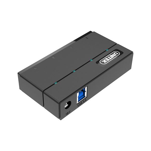 Unitek Y-HB03001 Hub 4x USB 3.0 + funkce nabíjení