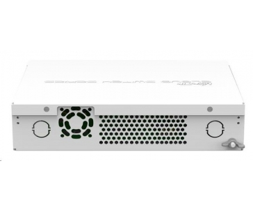 MikroTik Cloud Router Switch CRS112-8G-4S-IN, 400MHz CPU, 128MB RAM, 8xLAN, 4xSFP slot, vč. L5 licence