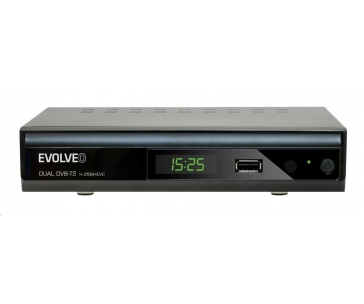Bazar - EVOLVEO Gamma T2, Dual HD DVB-T2 H.265/HEVC rekordér, z opravy