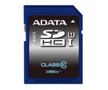 ADATA ASDH16GUICL10-R ADATA SDHC UHS-1 karta 16GB Class 10 (až 30MB/s)