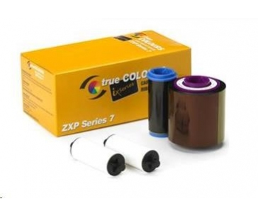ZEBRA TTR páska ZXP7, YMCKO, pro potisk 250 plastových karet, barevná