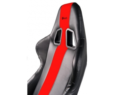 C-TECH Phobos herní křeslo, černo-červené