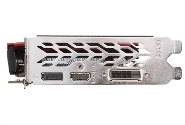 MSI VGA NVIDIA GTX 1050 GAMING X 2G, GTX1050, GDDR5 2GB